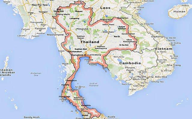 Daerah Asal Kucing Siam di Thailand