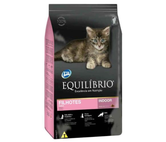 Makanan kucing merk equilibrio