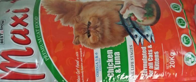makanan kucing maxi cat