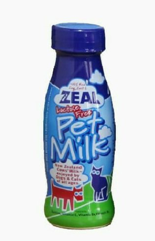 Zeal Pet Milk for Cats and Dogs